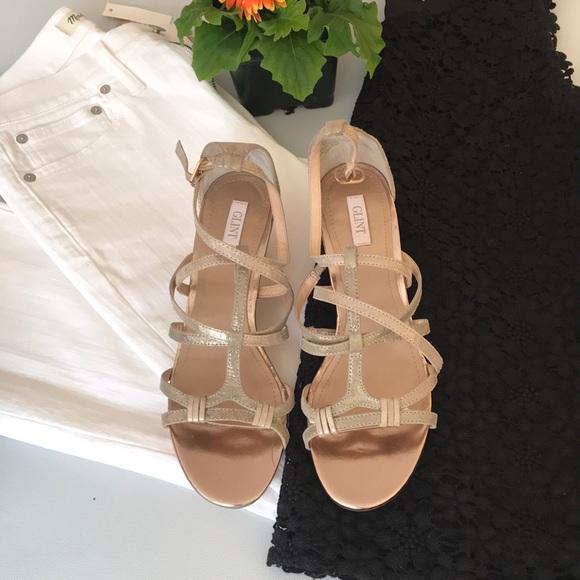 479d25af3b148b Glint at Nordstrom Shoes - Gold sandals - Nordstrom label - NWOT